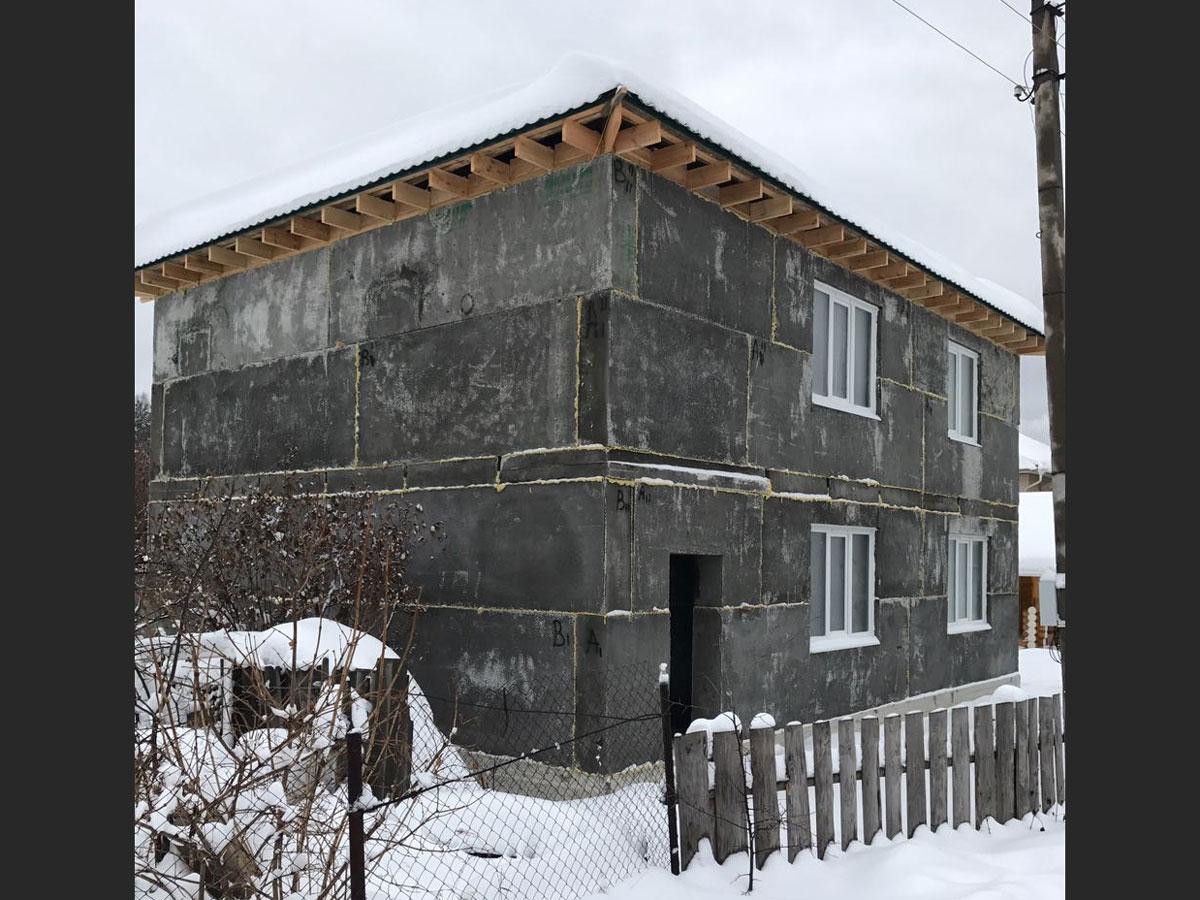монолитные дома из полистиролбетона